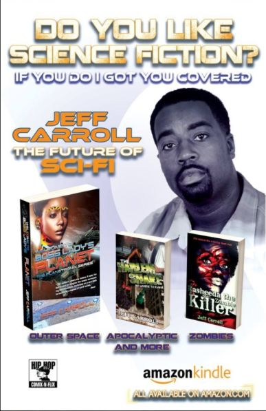 Writer Jeff Carroll