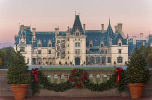 Biltmore Estate Holiday Trip Pic