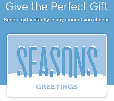 Holiday eGift Cards