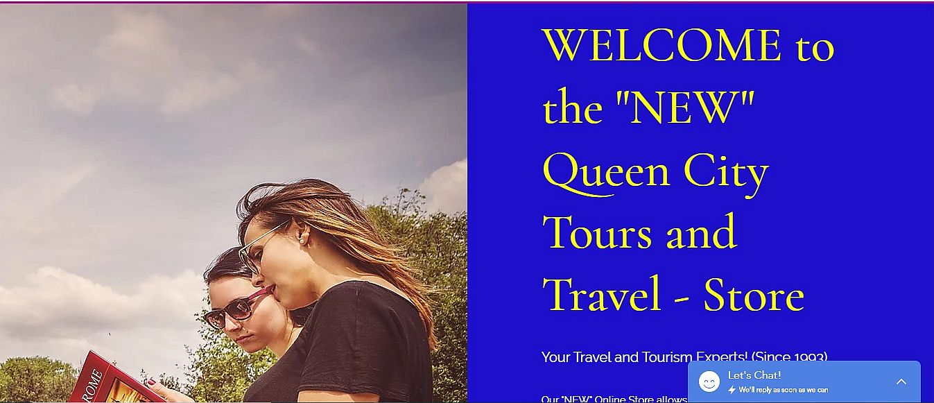 Queen City Tours and Travel Online Store